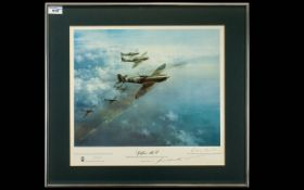 Frank Wooton - Aviation Artist OBE 1911 - 1998 Pencil Signed by the Artist Ltd and Numbered Colour