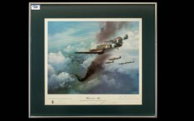 Frank Wooton - Aviation Artist 1911 - 1998 Pencil Signed by the Artist Ltd and Numbered Edition