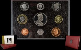 Royal Mint Ltd Issue United Kingdom 2002 Proof Coin Collection - Ltd Issue 100,000 Sets,