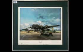 Frank Wooton - Aviation Artist 1911 - 1998 Pencil Signed by The Artist Ltd and Numbered Colour
