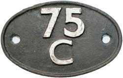 Shedplate 75C Norwood Junction 1950-1966 and Selhurst 1966-1973. In lightly restored condition