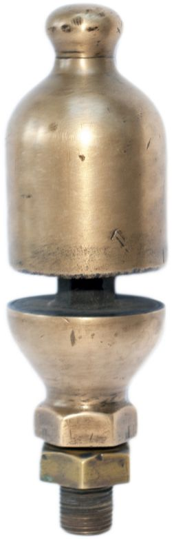 Brass locomotive steam whistle which are sometimes described as of LBSCR origin but may also be from