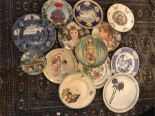 Lot 104 - 13 x Various Collectors Plates including Royal Doulton LImited Edition