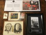 Lot 73 - Various Churchill/Wartime Memorabilia