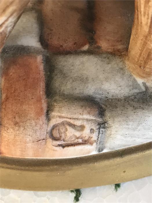 Lot 9 - A Capodimonte figure of a cobbler - 25cm high.