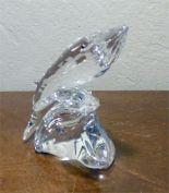 Lot 49 - Swarovski 1992 glass figure The Whales