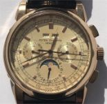 Lot 57 - A replica Patek Philippe Geneve watch - kinetic movement -58152