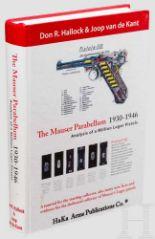 """Lot 10 - Hallock / van de Kant """"The Mauser Parabellum 1930 - 1946"""" Neuerscheinung von 2010 mit 704 farbig"""