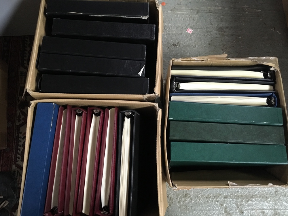 Lot 85 - LINDNER HINGELESS TYPE ALBUMS FOR CHANNE