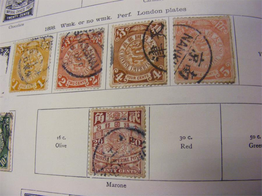 "Lot 46 - ""The New Ideal Postage Stamp Album"" - Foreign Count"