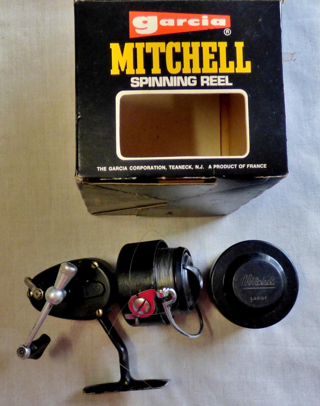 Lot 26 - Mitchell 300 reel _ (1) Extra Spool