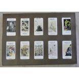 Carreras Ltd Raemaekers War Cartoons (Black Cat) 1916 set 140/140 Ex