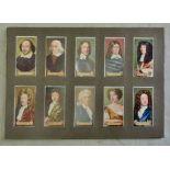 Carreras Ltd Celebrities of British History 1935 set 50/50 EX