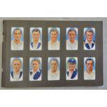 W A & A C Churchman Cricketers 1935 set 50/50 EX