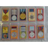 W A & A C Churchman Medals 1910 set 50/50 EX