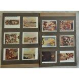W A & A C Churchman Italian Art Exhibition 1930 2nd Series 1931 set L12/12 EX