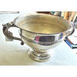 Lovely Silver Presentation Bowl Hallmarked Sheffield 1920, 730 grams 'Great Yarmouth ladies Sea