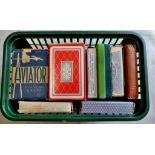 Playing cards - Eight packs British,