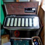 Juke Box 1053-2133/4 Prestige Jukebox E160, Circa 1977 -working order not tested.(Buyer Collect