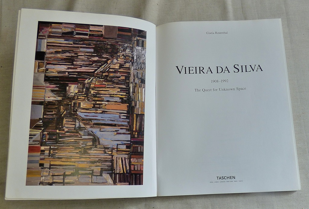Lot 56 - Art Book-Vieira Da Silva 1908-1992, The Quest for Unknown Space' - published 1988