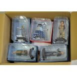 Dr Who-(5) Figures + Magazines-Models-The Eight Doctor ADJ17061-The Empty Child AEK1888-Cod Signa