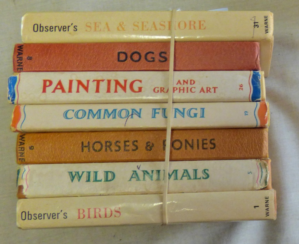 Lot 47 - Observer Books: Sea & Seashore, Dogs, Painting, Common Fungi, Horses & Ponies, Wild Animals and