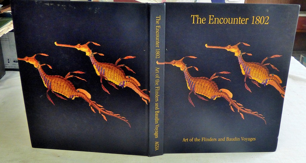 Lot 57 - Art Book-Hardback-The Encountier 19802' Art of the Flinders and Baudin Voyages - published 2002