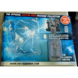 Dr Who - Display Board - The Eleventh Doctor - Still in sealed plastic - no magazine.