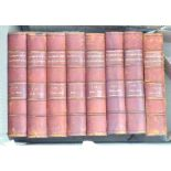 Harmsworth Encyclopaedia's (8 vols) Published early 1900's, hardback, good condition