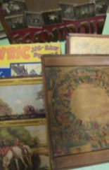 Lot 16 - JIGSAWS, games, 19th c. & later, box of (a/f).
