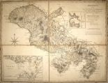 "Lot 50 - MARTINIQUE / MAP. JEFFERYS (Thomas) ""Martinico done from Actual Observations . . . Made by English"