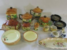 Assorted Cottage ware, Delft,