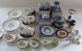 Susie Cooper part tea service, Wedgwood Jasperware,