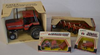 4 ERTL farming die cast models including 5288 tractor with cab,