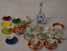 Various ceramics including Noritake,