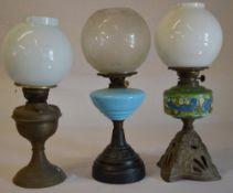 3 oil lamp's (AF)