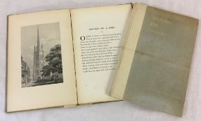 David N Robinson collection - 2 copies of Sketches & Sonnets - Illustrative Of The Spire Of St