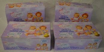48 Time4Toys 'Li'l Cutie Talking Dolls' brand new in boxes,