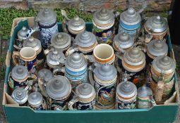 Quantity of German steins