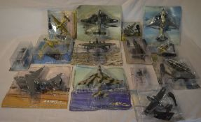 Various Amercom model aircraft including helicopters and aeroplanes