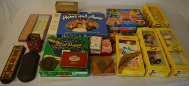 Various games including MB Home & Away,