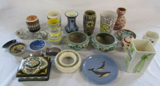 Various 1950/60s pottery inc The Jersey Pottery