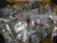 Box of loose Britains figures,