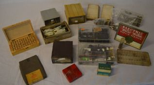 Watch parts - Longines watch oil, Seiko crystals, clasps, buckles, clock hands,