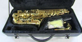Stagg 77-SA saxophone with case