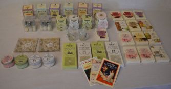 Quantity of new & unused Price's of London scented candles including tins,