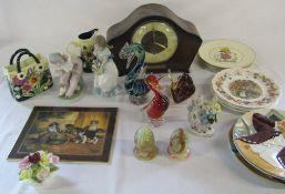Various ceramics inc Nao (af), Old Tupton,