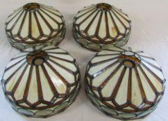 4 Tiffany style lamp shades D 30 cm