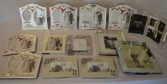 Ex shop stock - Approx 13 good quality new photo frames