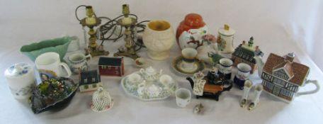 Various ceramics etc inc Aynsley and Wedgwood